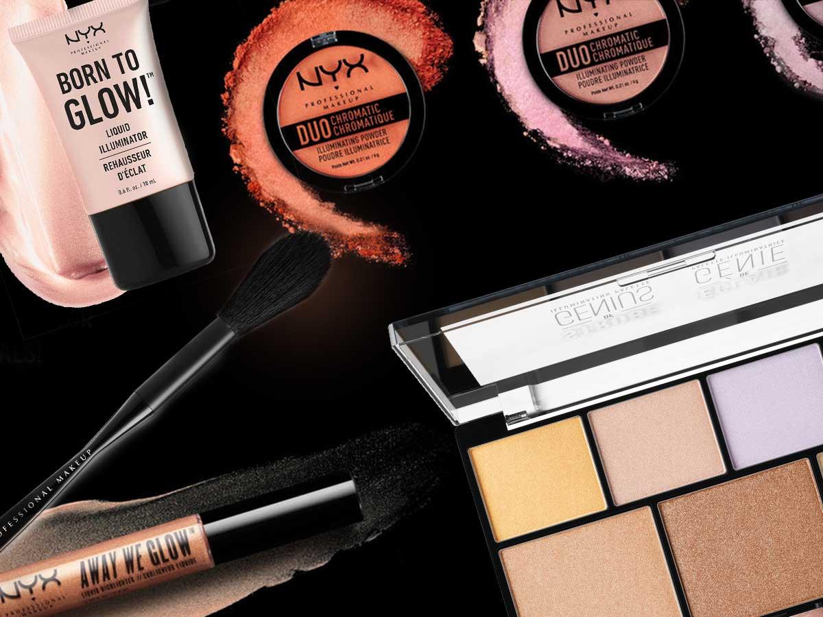Šminka: NYX Professional Makeup iluminatori