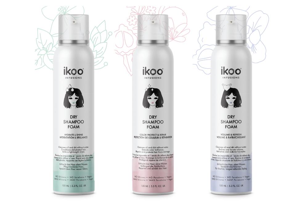 Ikoo šamponi za suvo pranje kose