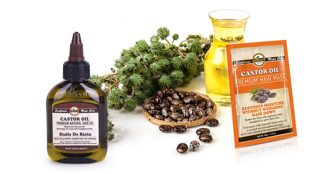 Ricinusovo ulje i maska za kosu