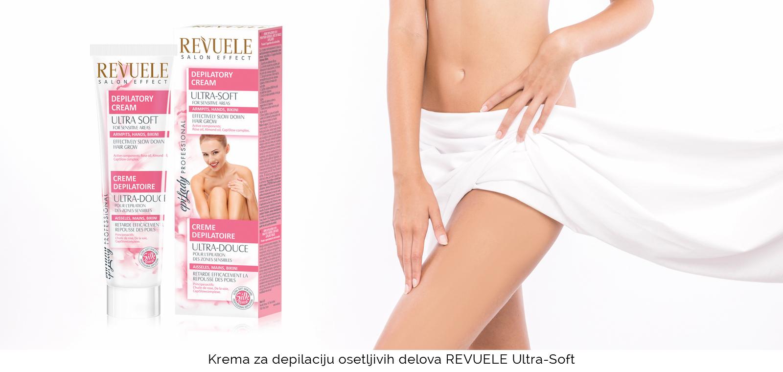 Kreme za depilaciju osetljivih delova tela