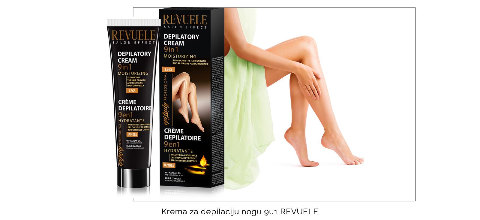 Krema za depilaciju nogu