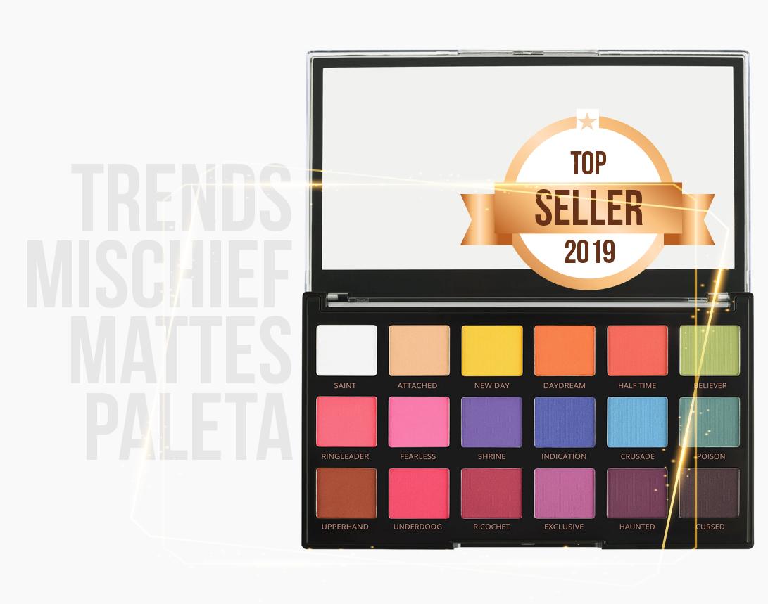 Revolution Pro paleta senki za oči koja prati savremene trendove u šminkanju