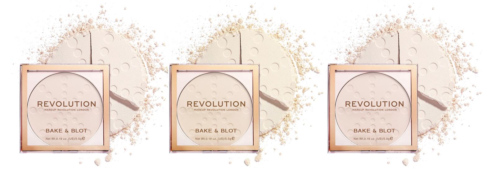 Revolution Makeup puder u kamenu