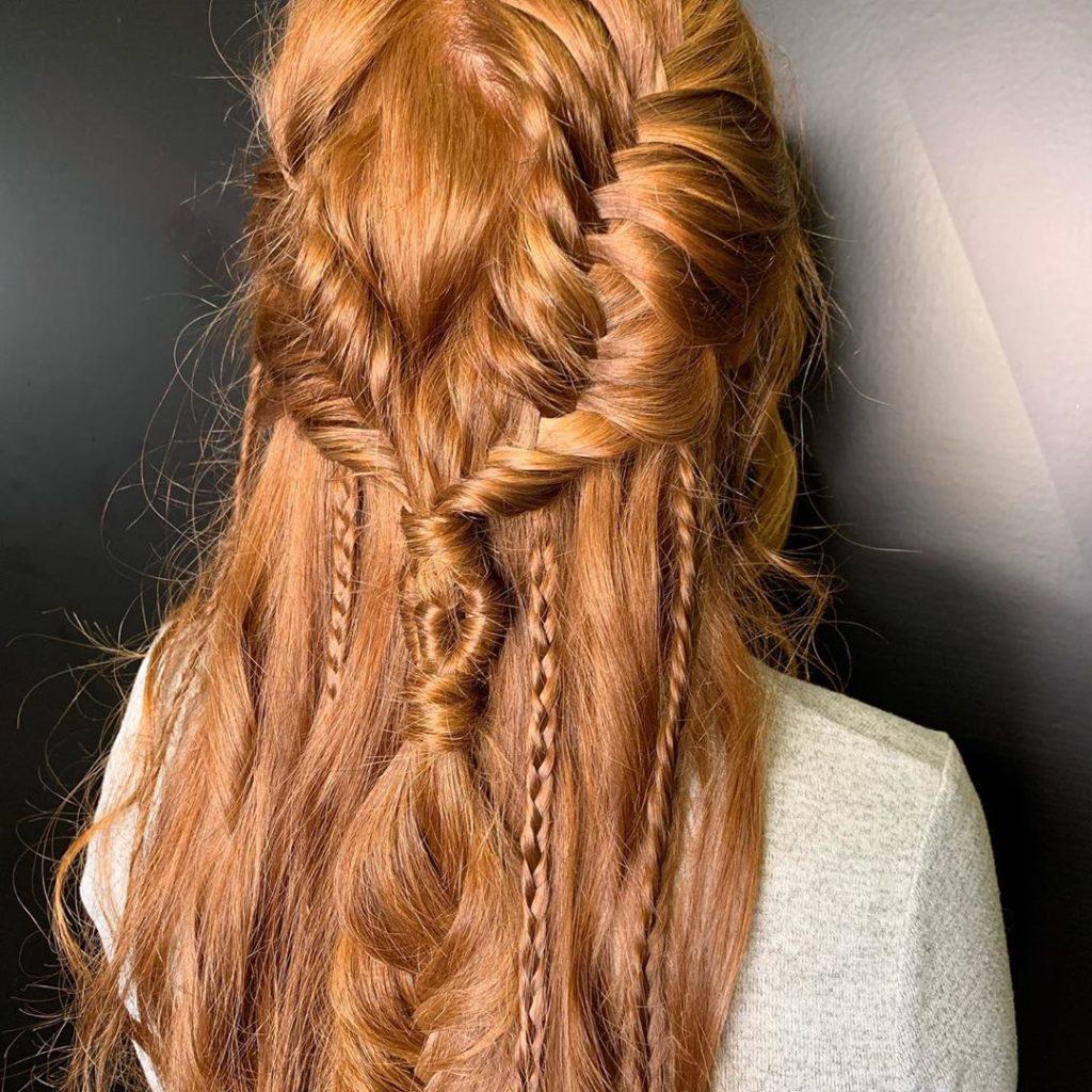Kreativne pletenice - idealna frizura za festivale