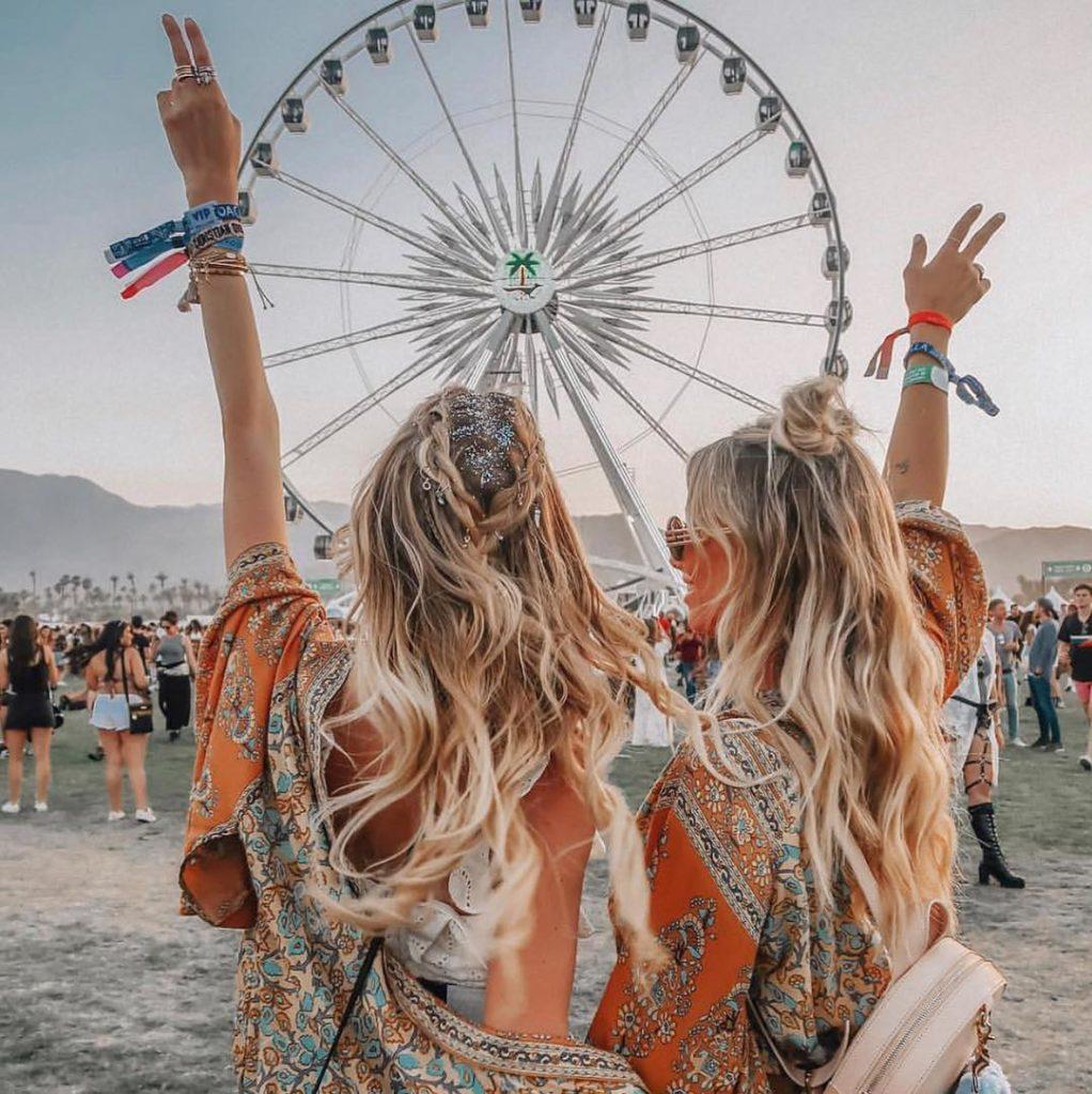 Kreativne frizure za festival