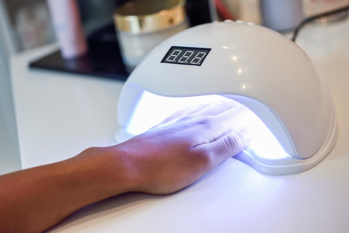 UV LED lampa za nadogradnju noktiju