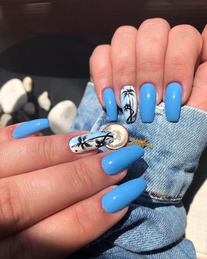 Plavi nokti