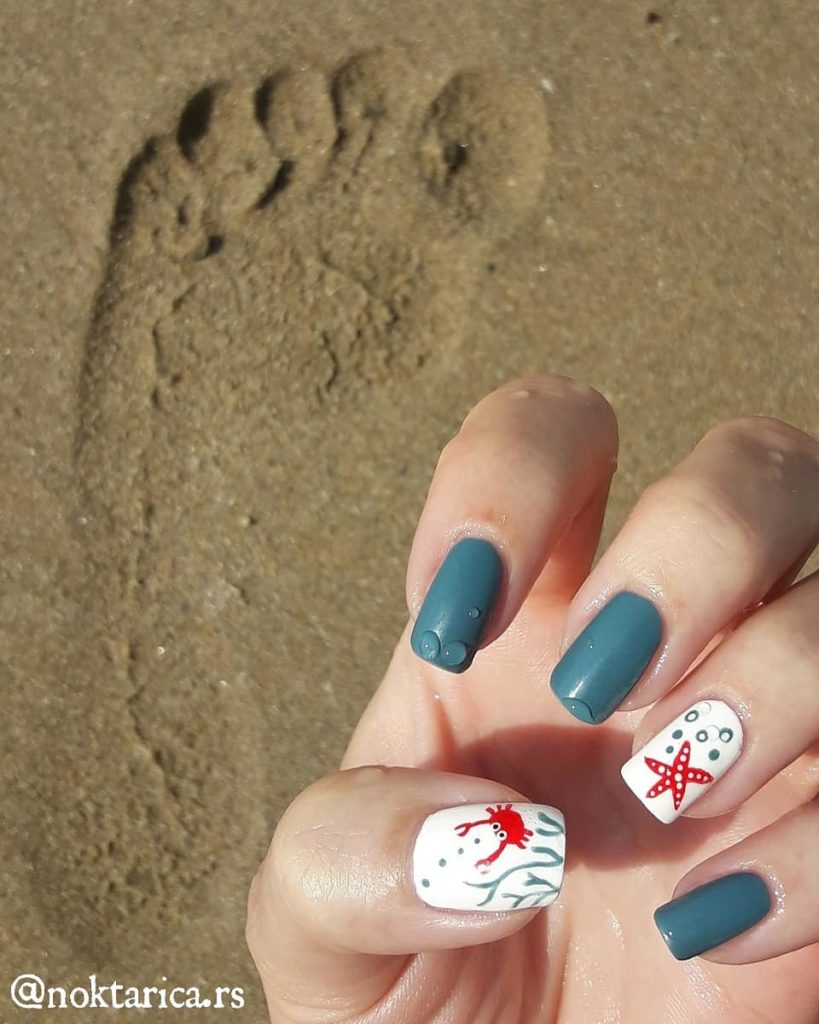Prirodni nokti za leto