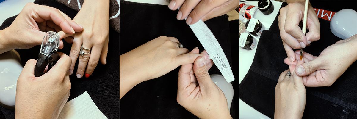 Nadogradnja noktiju tipsama