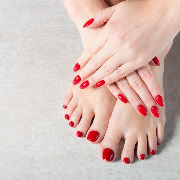 Crveni nokti - nadogradnja