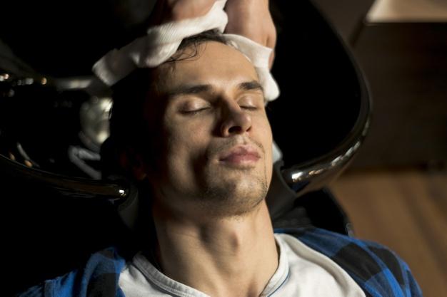 sušenje kose za muškarce