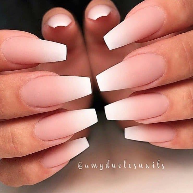 Ombre-frenč nokti