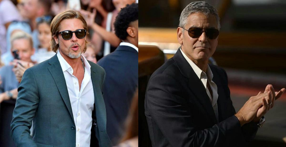 Bred Pit i Džordž Kluni