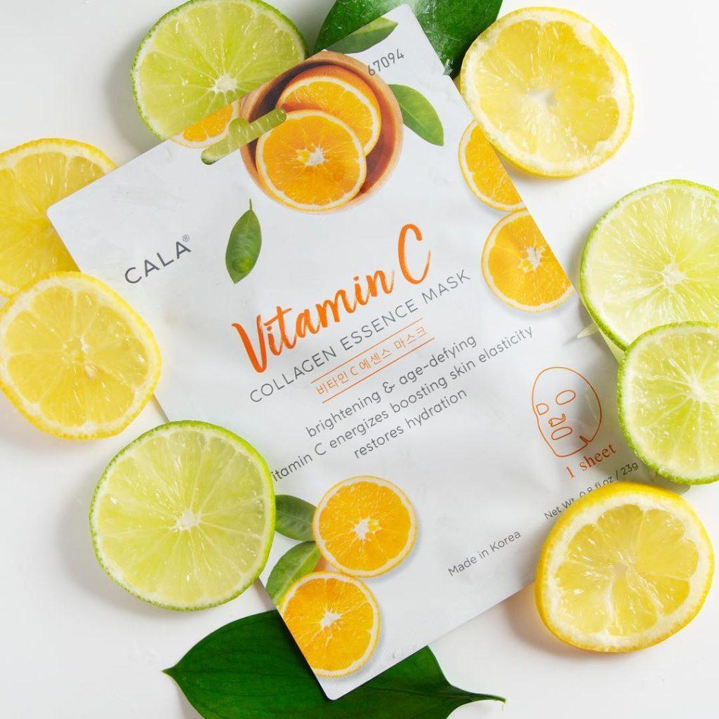 Korejska maska sa vitaminom C