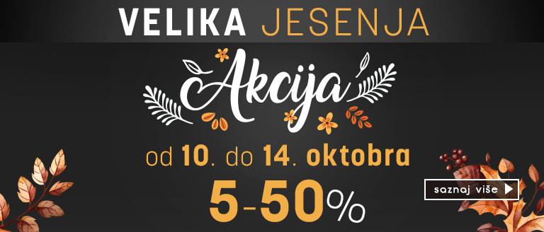 Velika jesenja akcija u Alexandar Cosmetics-u