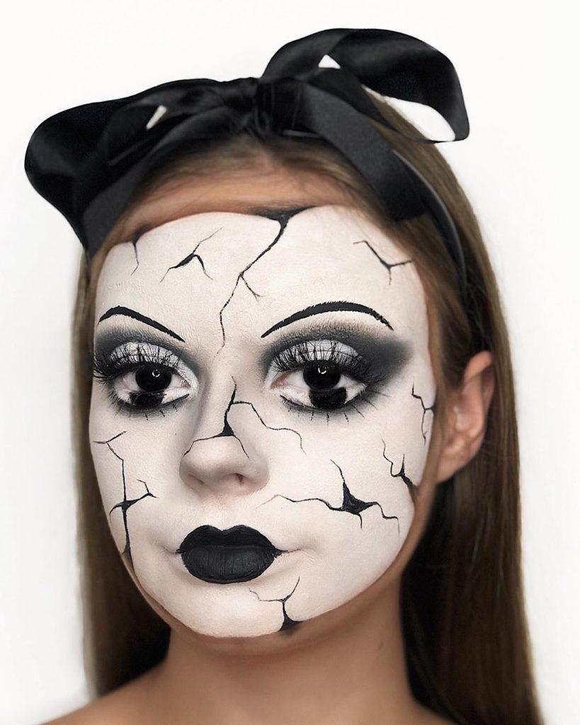 Šminka za noć veštica, kreativna ideja