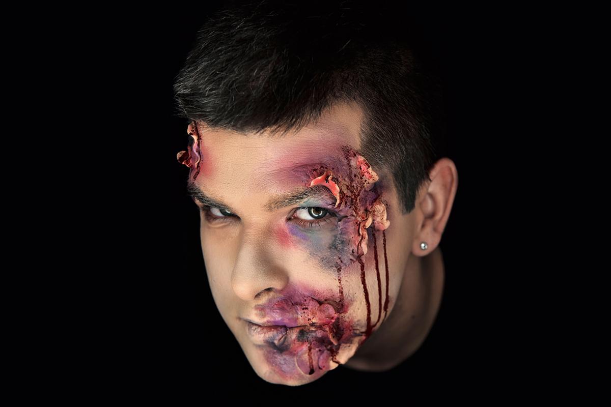 Halloween makeup - maske za Noć veštica