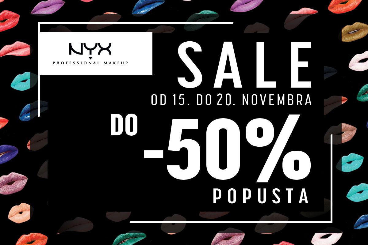 NYX Professional Makeup akcija