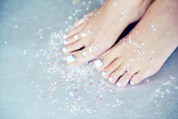 Pedikir za uredne nokte na nogama