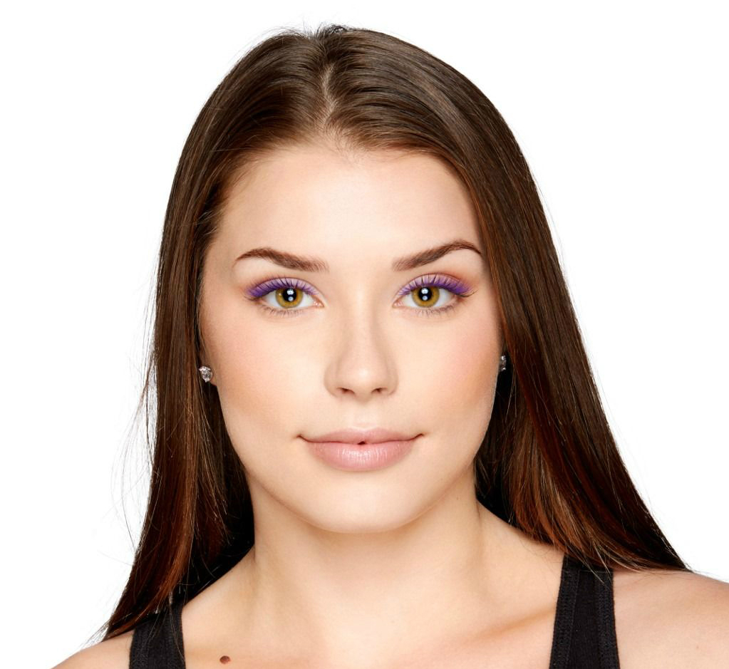 Ljubičasta maskara za oči NYX Professional Makeup
