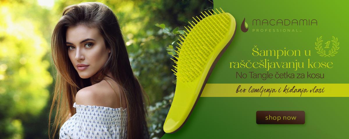 Najbolja četka za raščešljavanje kose - Macadamia NoTangle