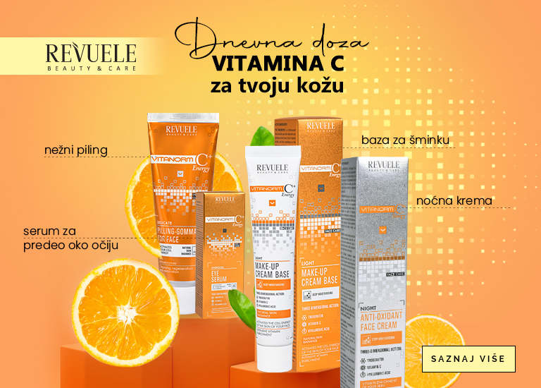 Vitamin C - kozmetika Revuele