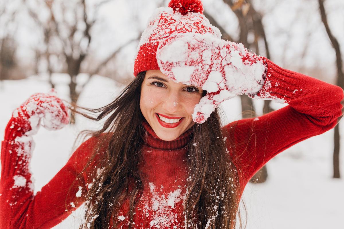 Zimska nega kose i uživanje na snegu