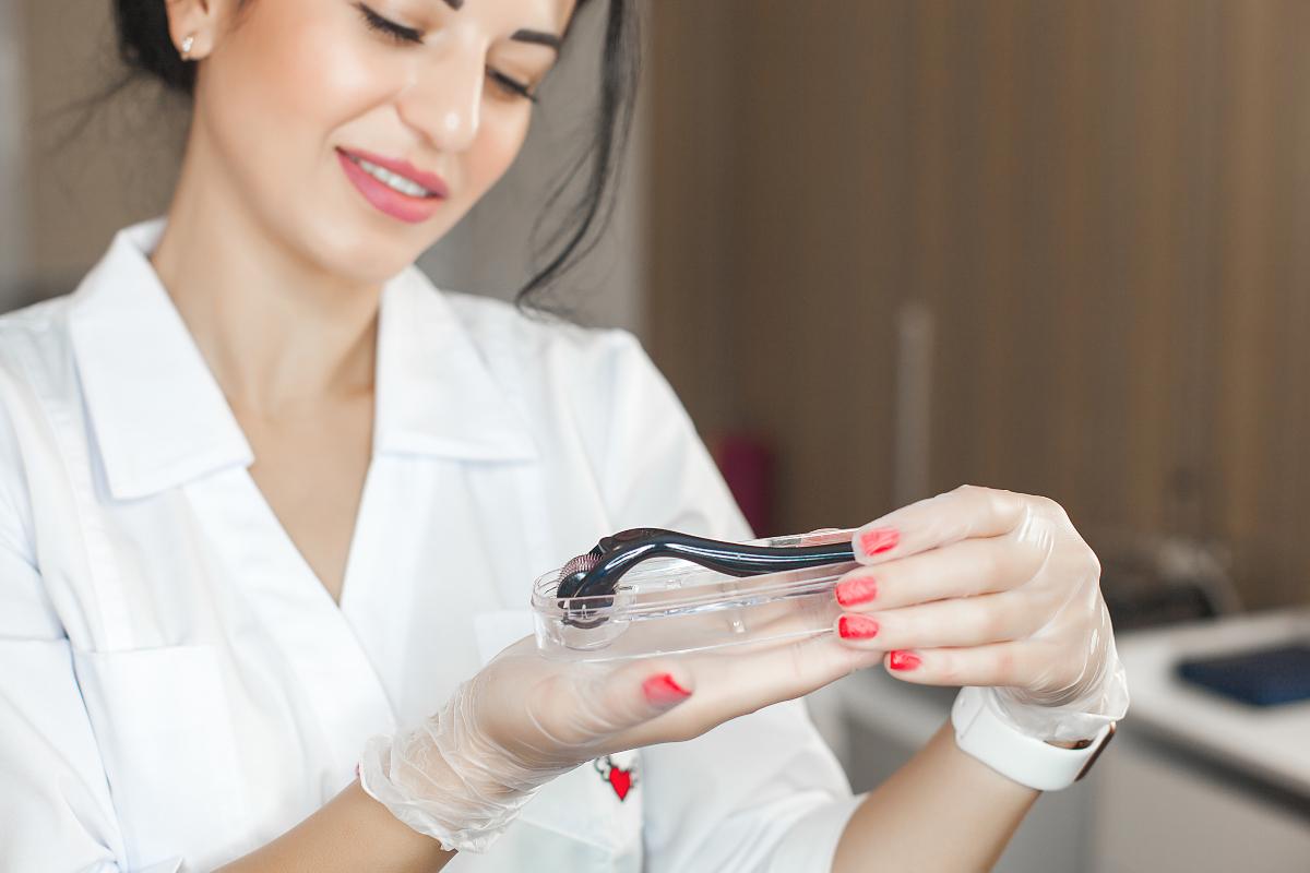 kako se koristi dermaroler