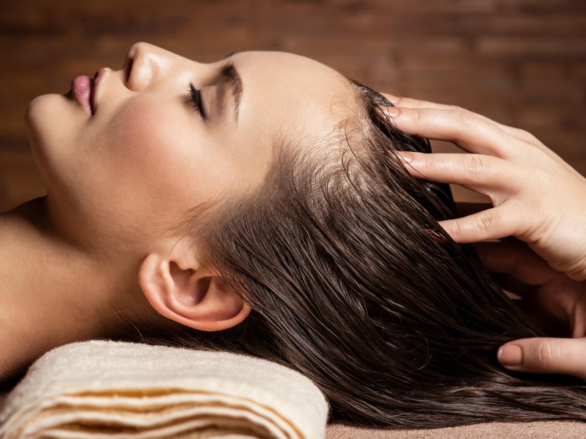 Masaža glave za brži rast kose